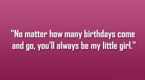 daughter birthday quotes, best, sayings, wish, little girl