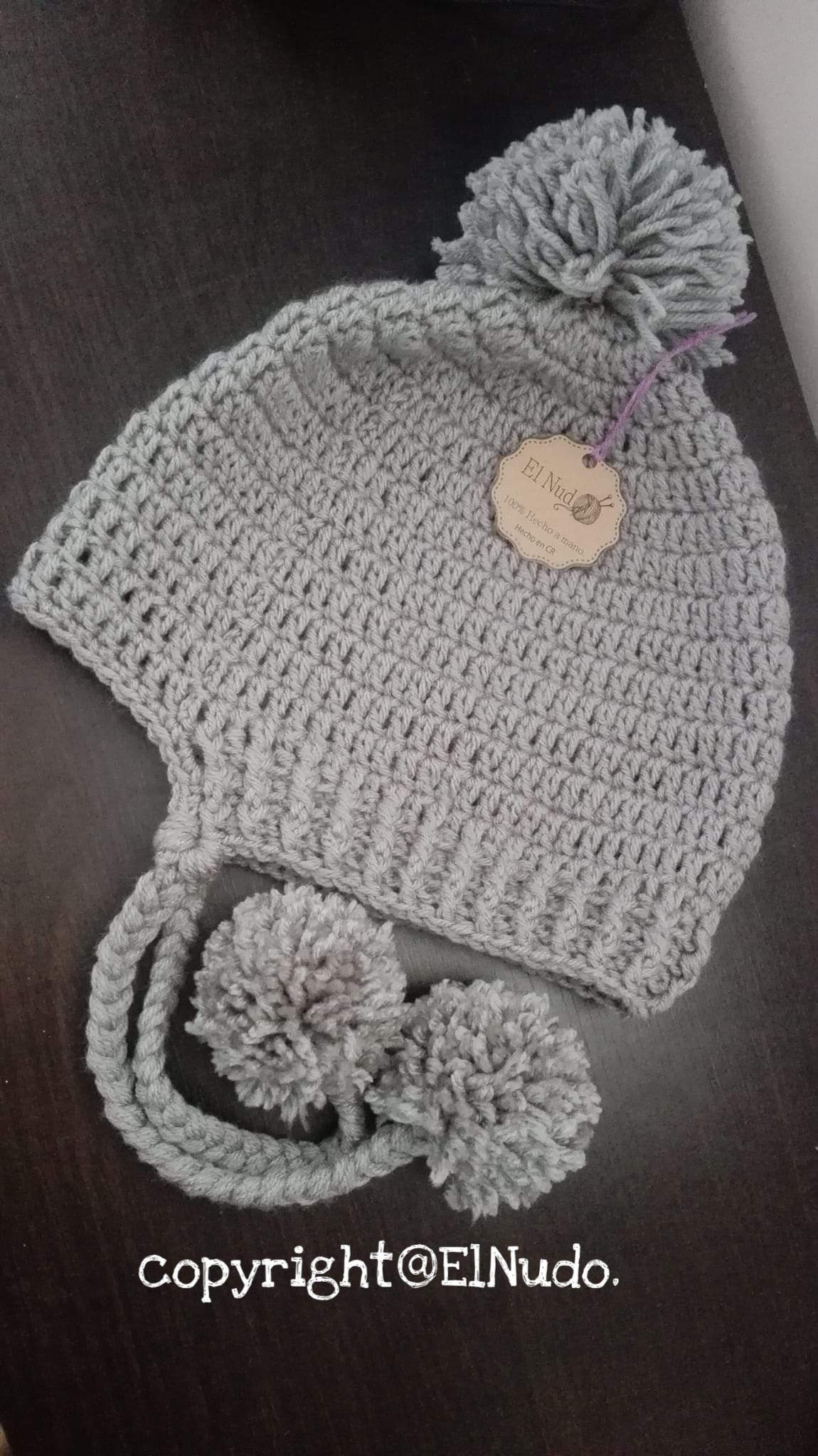 Pompon Crochet hats, Crochet, Hats