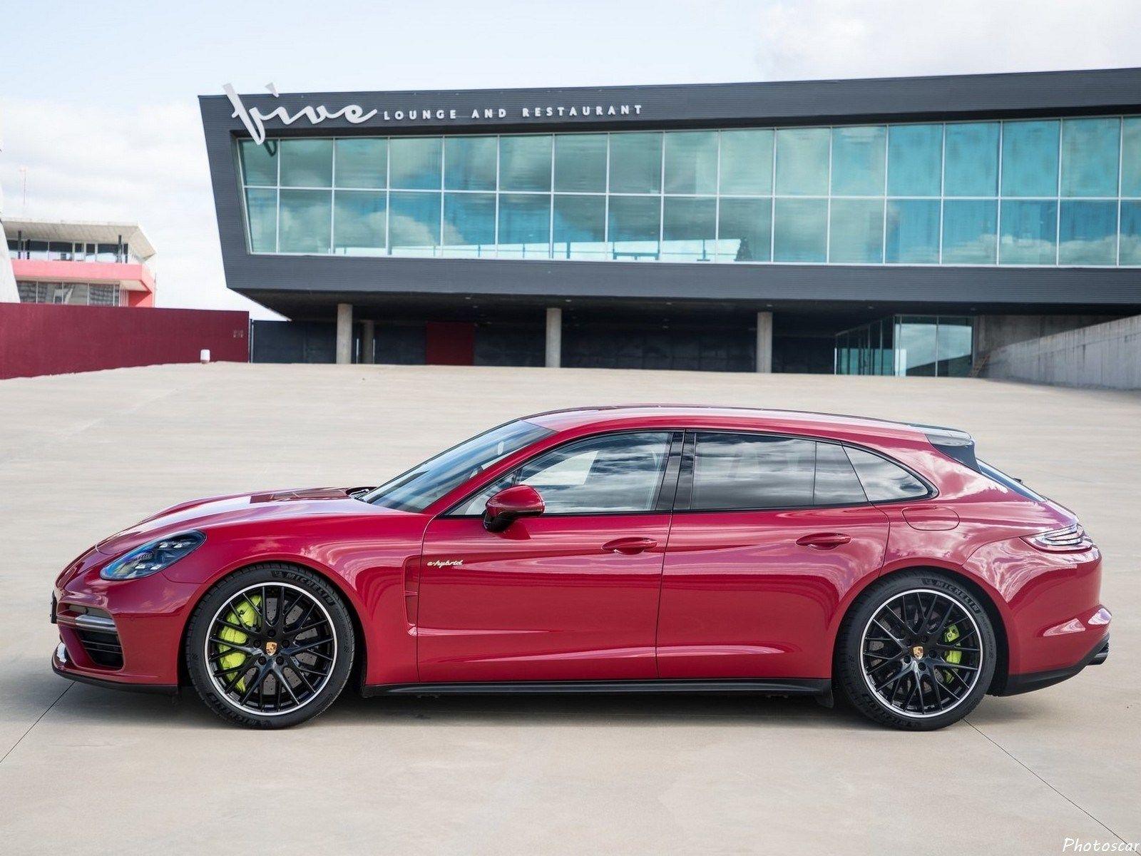 f5fab22559 Porsche Panamera Turbo S E-Hybrid Sport Turismo 2018