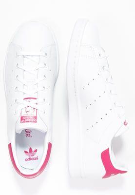 Conception innovante 2f087 6deb5 STAN SMITH - Trainers - white/bold pink @ Zalando.co.uk ...