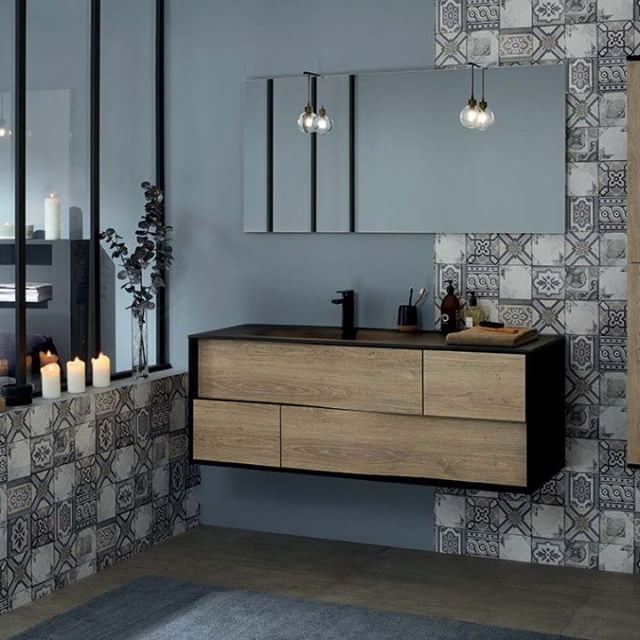 S�parez votre coin salle de bain de votre chambre avec une verri�re, la tendance 2018!   #sanijura #mylodge #salledebain #salledebaindesign #bathroom #decosalledebain #decomaison #bathroominspo #homedeco #ideedeco #home #inspiration #homesweethome #interi