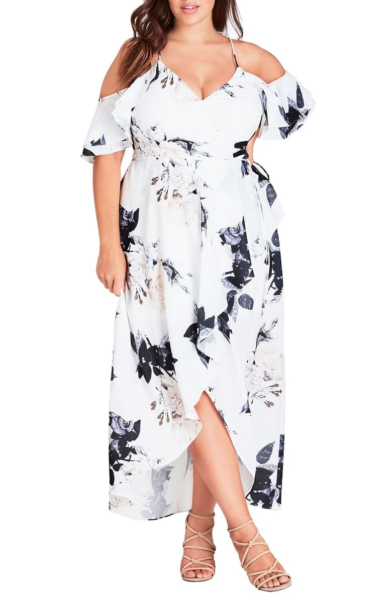 Nordstrom plus nordstrom floral summer dress curvy dress off the