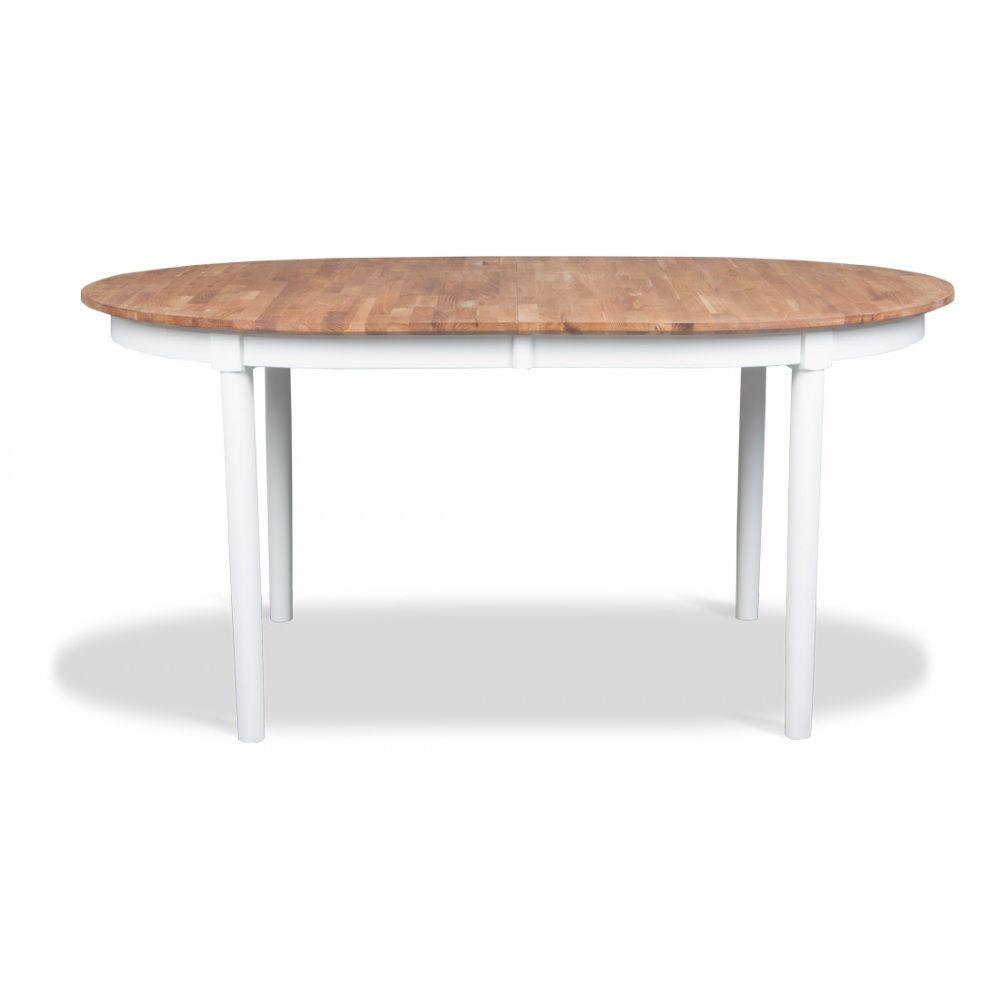 Esstisch Mats Oval EicheWeiß eBay Esstisch, Eiche, Tisch