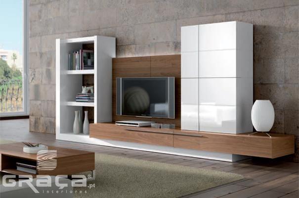 Sala De Estar E Tv Planejada ~   Salas de estar modernas, Sala de tv planejada e Sala de estar