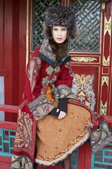 Russian style, love it!