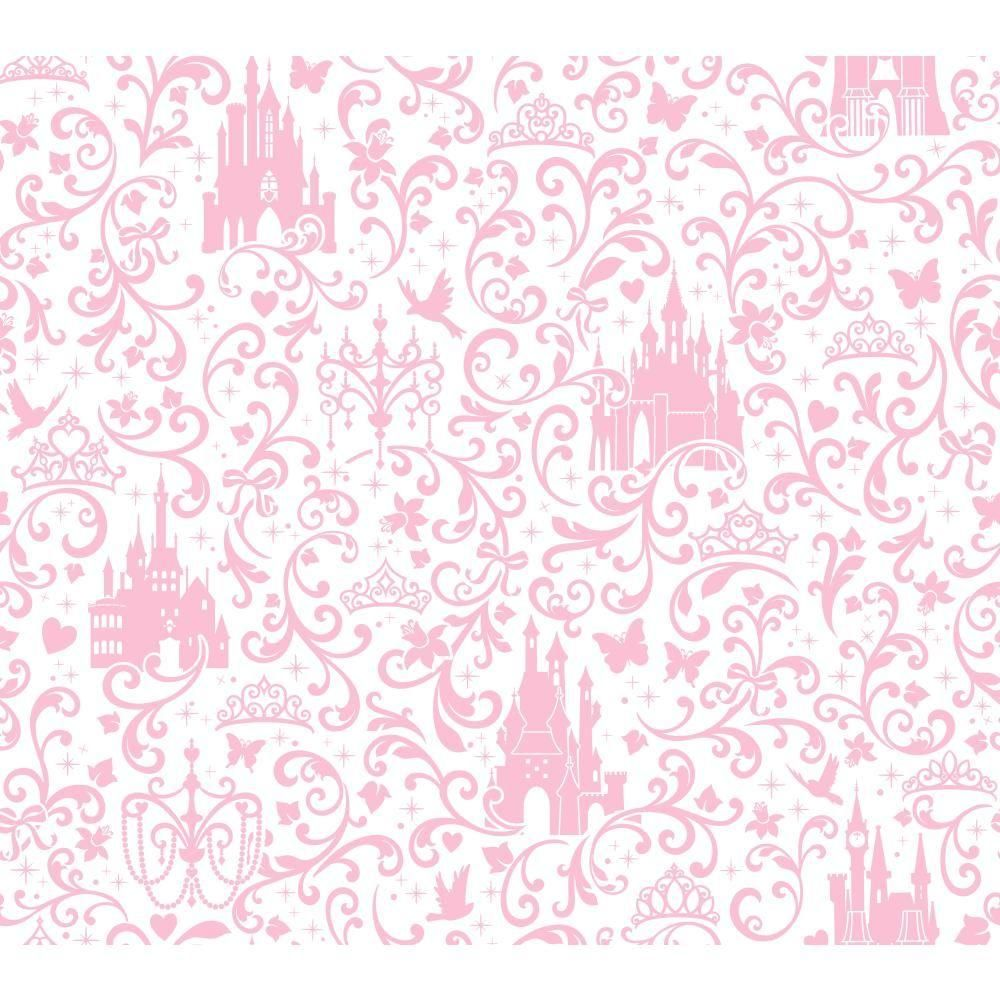 York Wallcoverings Walt Disney Kids II Small Scroll With
