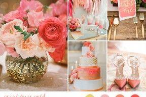 matrimonio corallo e oro   wedding wonderland