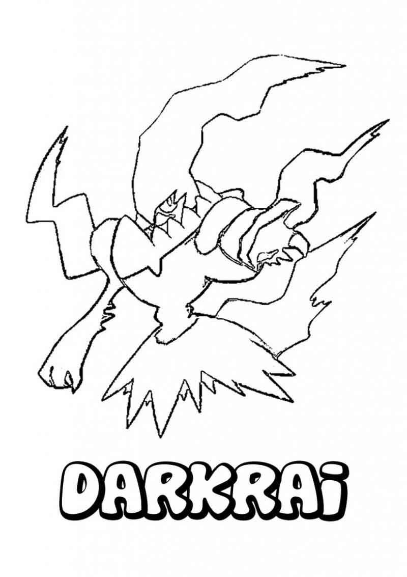 Pokemon Black And White Color Pages From Cartoon Coloring Pages