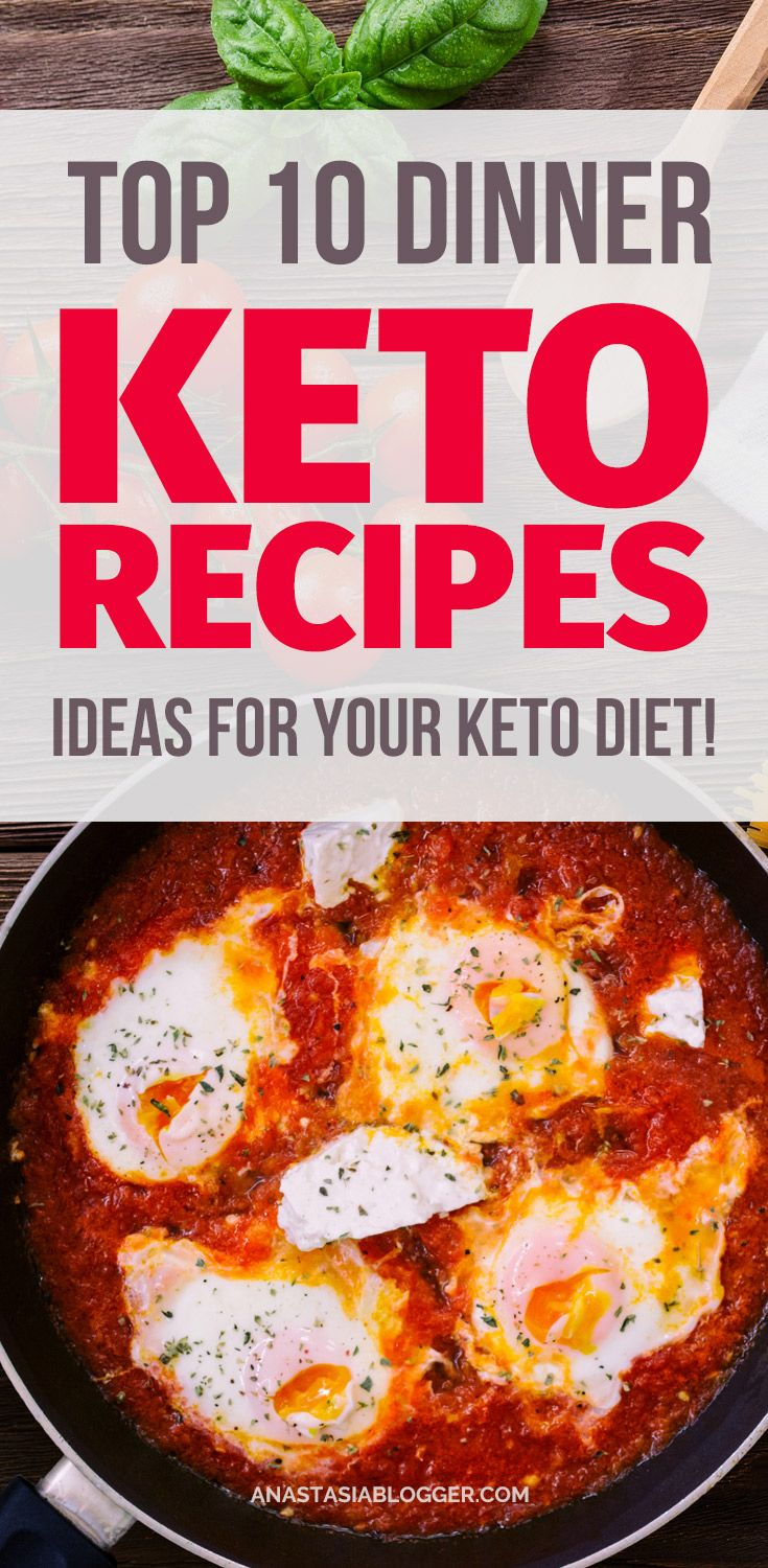 Ketogenic Recipes TOP 10 Dinner Ideas For Your Keto Diet