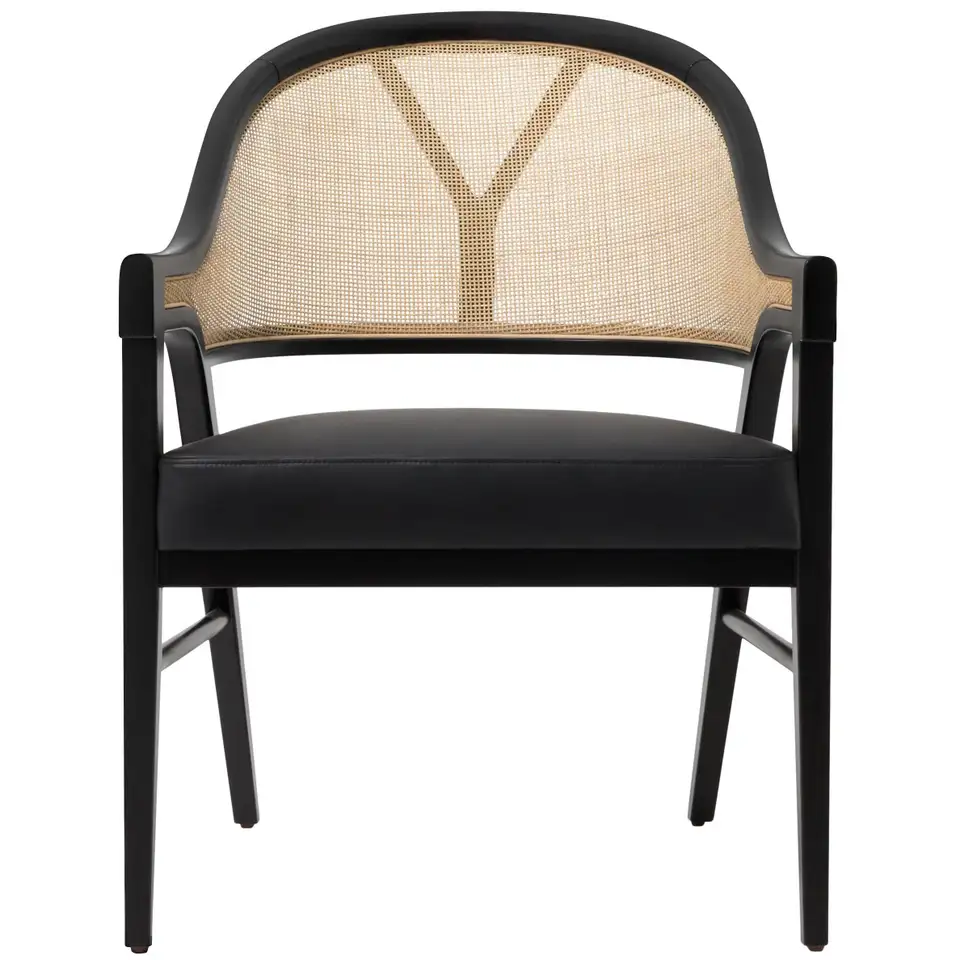 For Sale On 1stdibs Contemporary Timeless Lounge Chair By Paulo Antunes The Seat Is In 2020 Cane Dining Chairs Contemporary Dining Chairs Dining Room Chairs Modern
