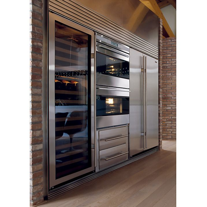 Sub zero icbbi42s s th integrated side by side fridge - Cocinas wolf ...
