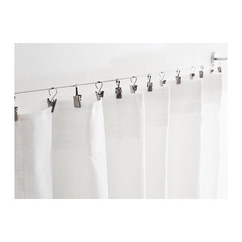 riktig curtain hook with clip ikea
