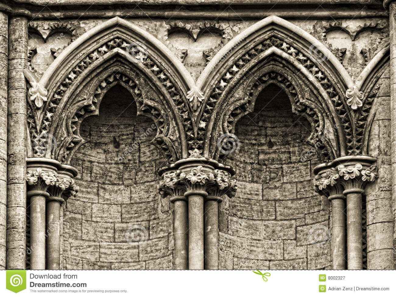 cathedral arches | Gothic arches at the side of Ely ...