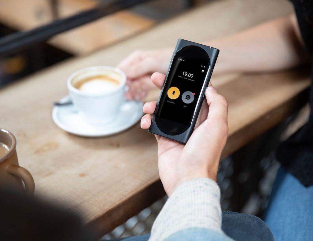 Langogo AI Pocket Translator and WiFi Hotspot Hot spot