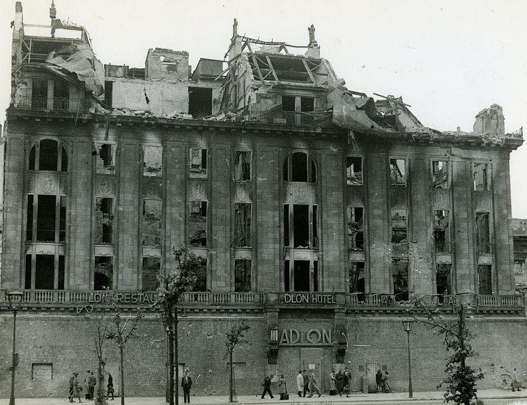 1945 Hotel Adlon | Berlin in War and Peace | Berlin ...