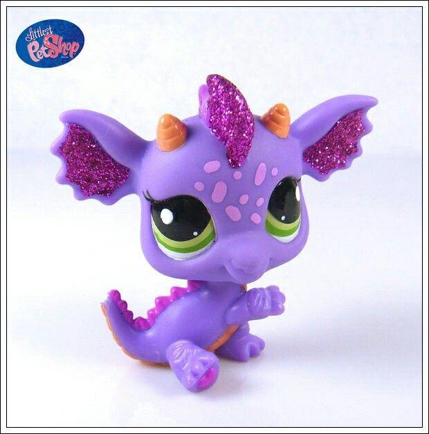 Purple Dragon I M Getting Little Pet Shop Toys Lps Toys Lps