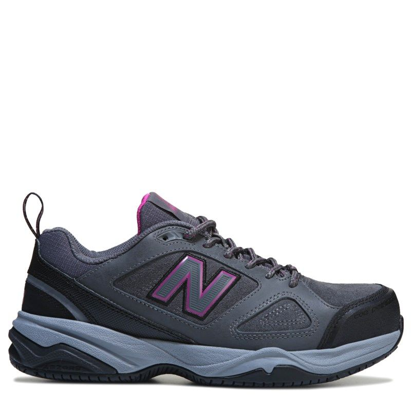c4a04f06acce1b New Balance Women s 627 V2 Medium Wide Steel Toe Work Shoes (Grey Pink)