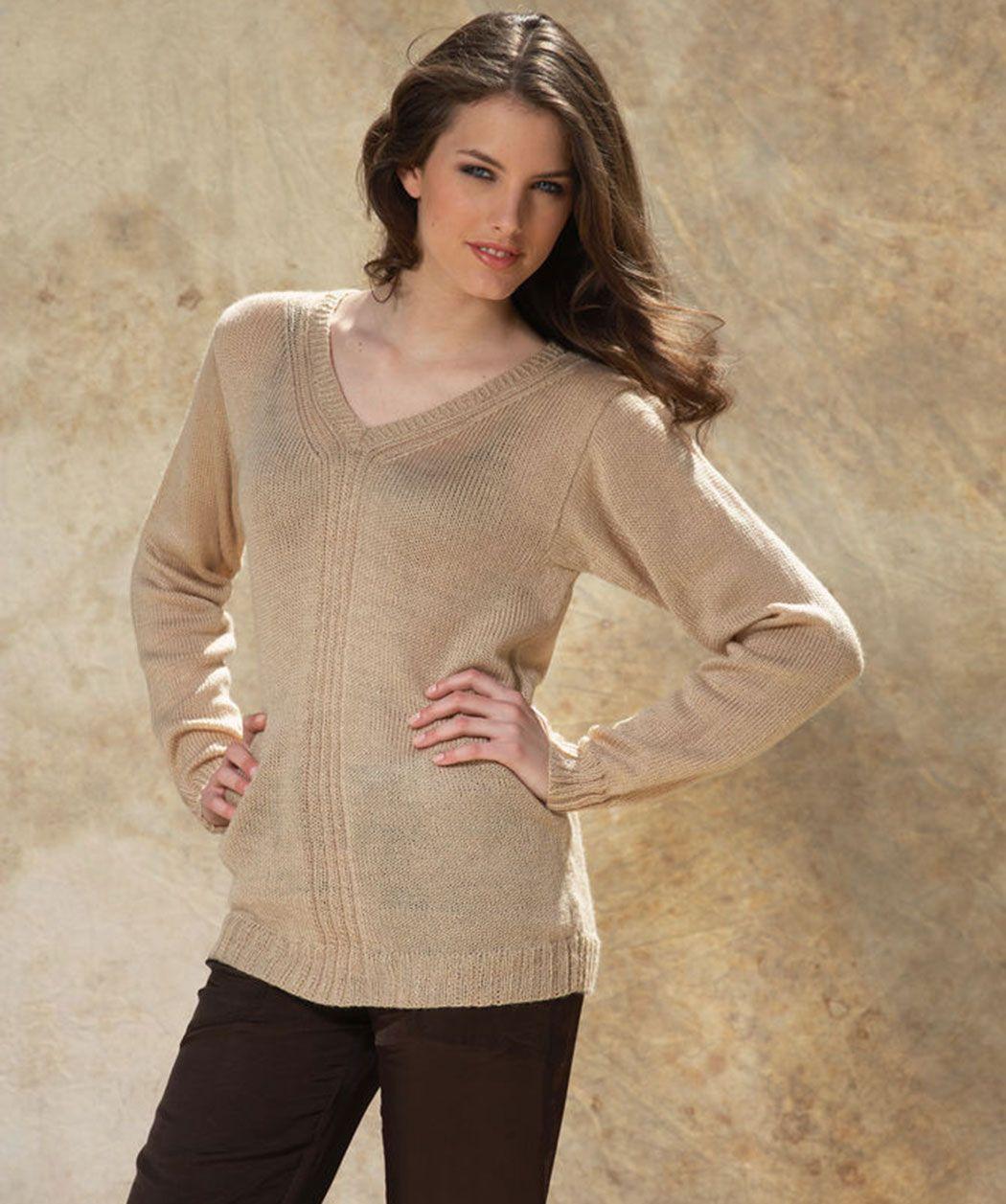 Helen Jumper Free Knitting Pattern #RedHeart #Margareta | Knitting ...