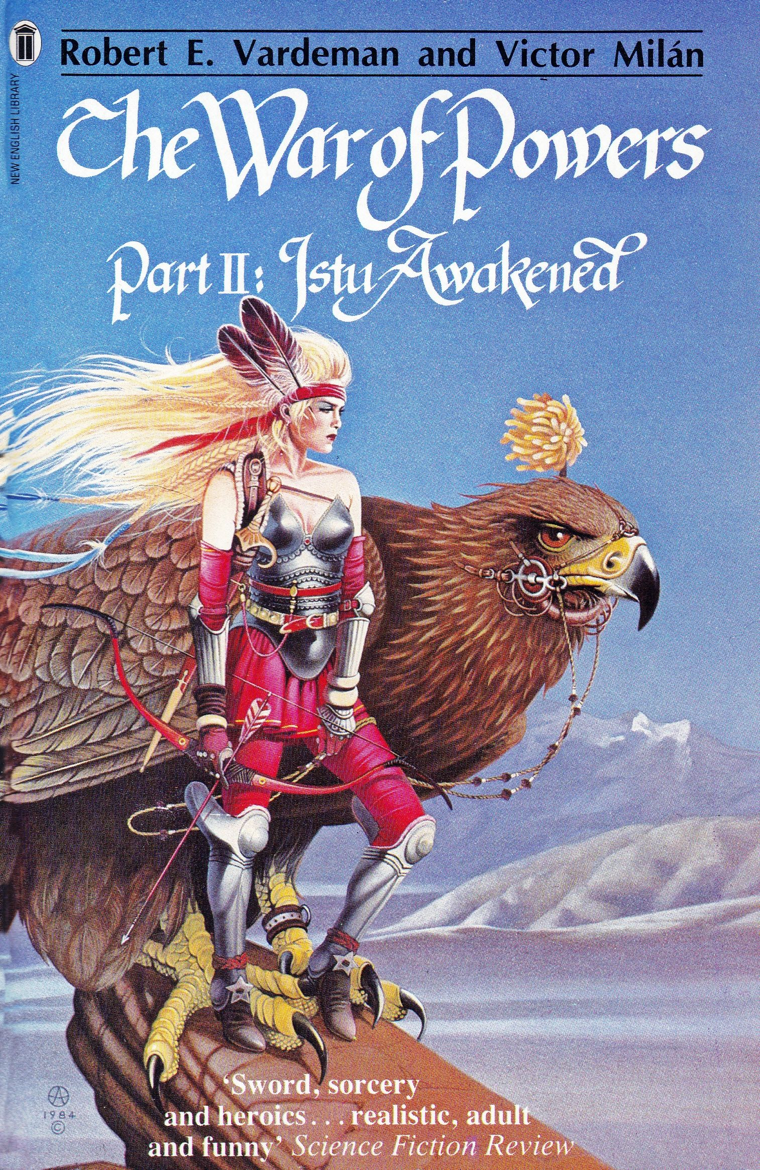 Robert E Vardman And Victor Milan The War Of Powers Part 2 Istu Awakened Horror Book Covers Fantasy Book Covers Horror Book