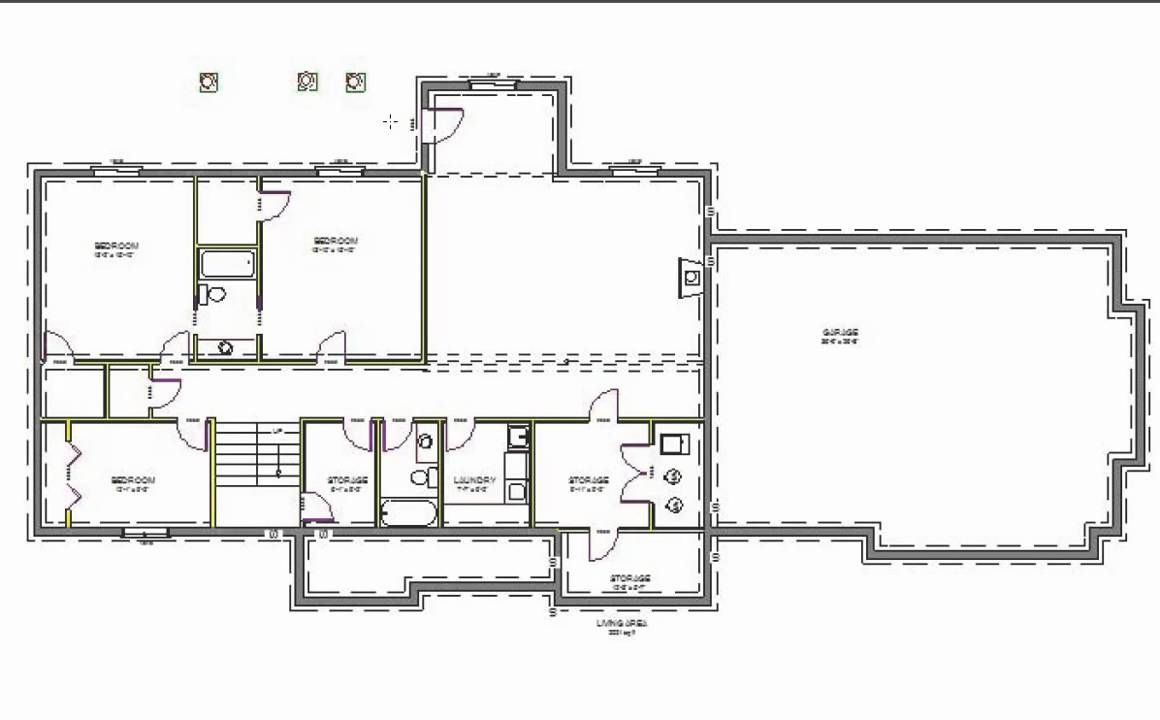 H107 executive ranch house plans 2000 sq ft main 4 bedroom for 2000 sq ft house plans with basement