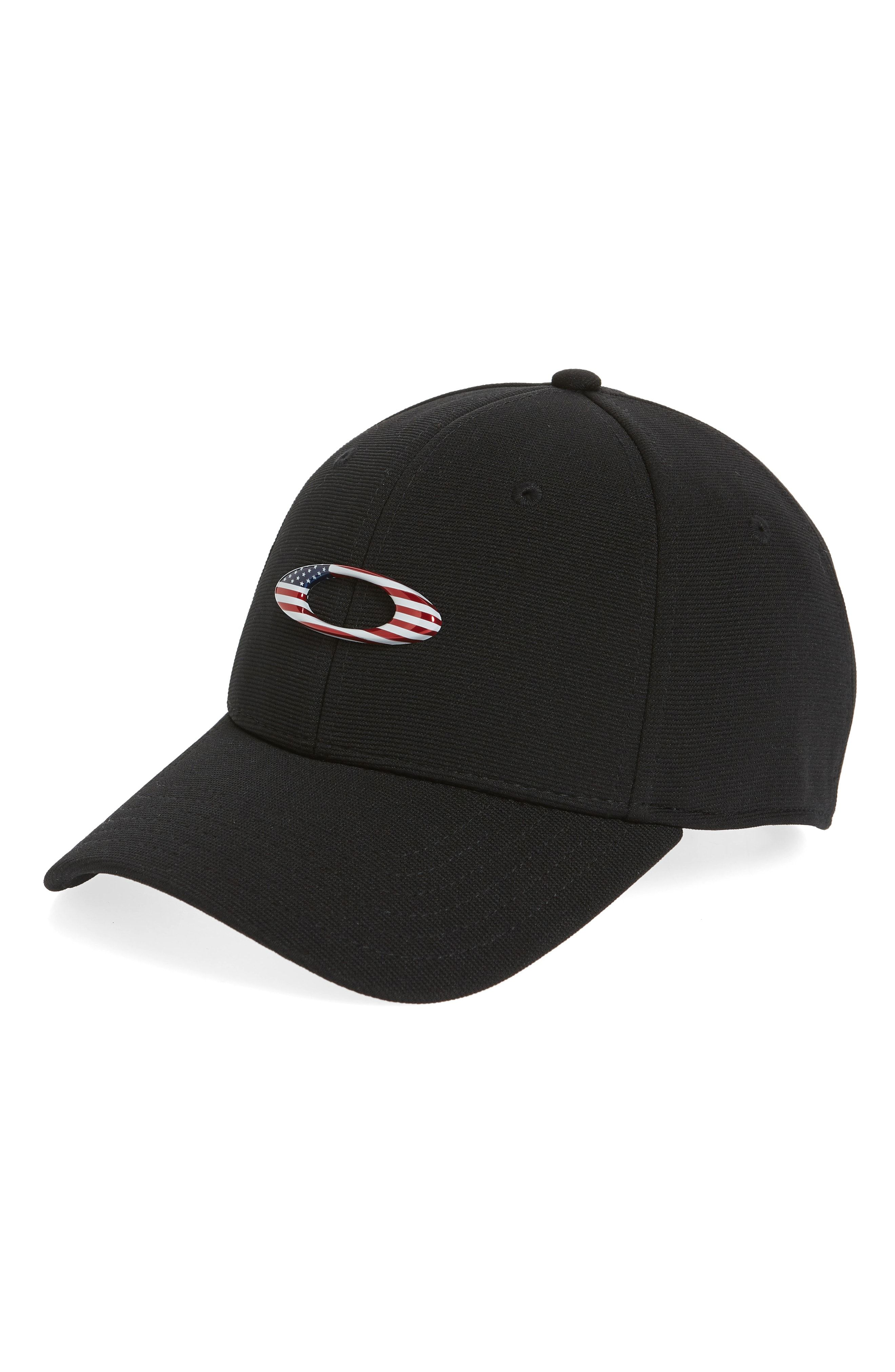 Tincan Ball Cap In Black/ American Flag Ball cap, Oakley