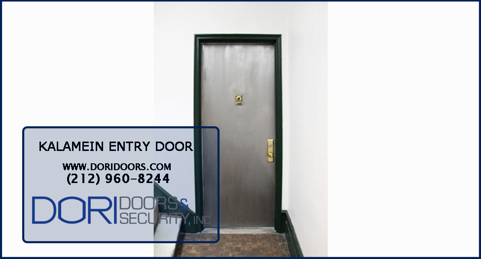 One Of Our Recent Jobs, Apartment Kalamein Entry Door In The Upper West Side ,