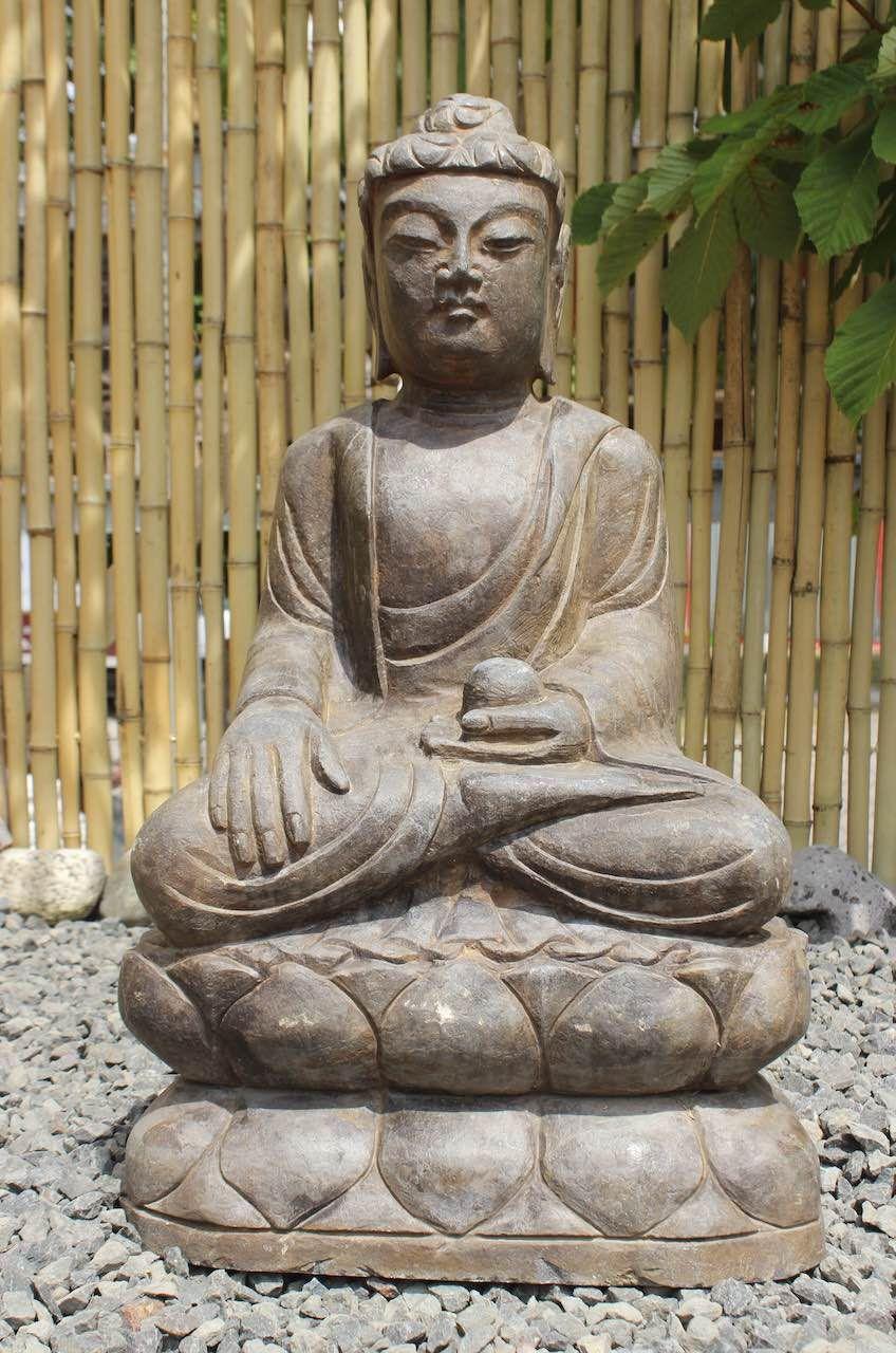 Siddharta Garten Buddha Statue 60cm Statue Buddha Figur Buddha