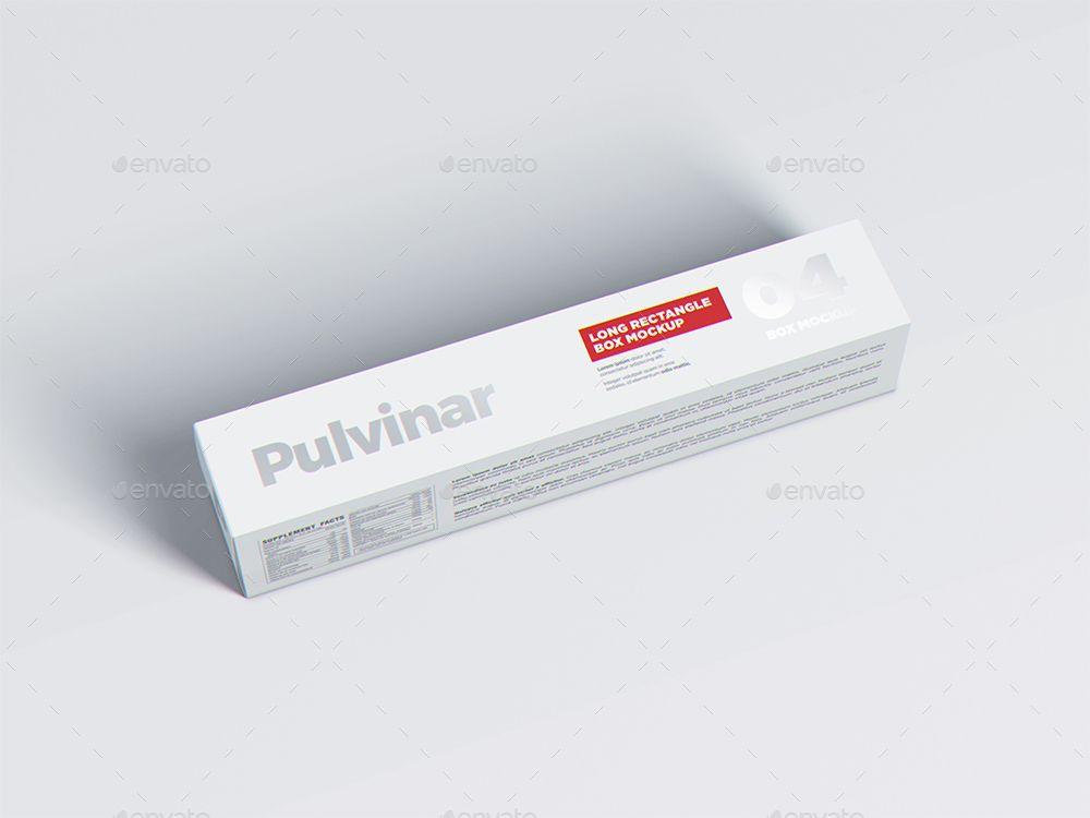 Download Box Packaging Mockup Long Rectangle Packaging Mockup Box Packaging Packaging
