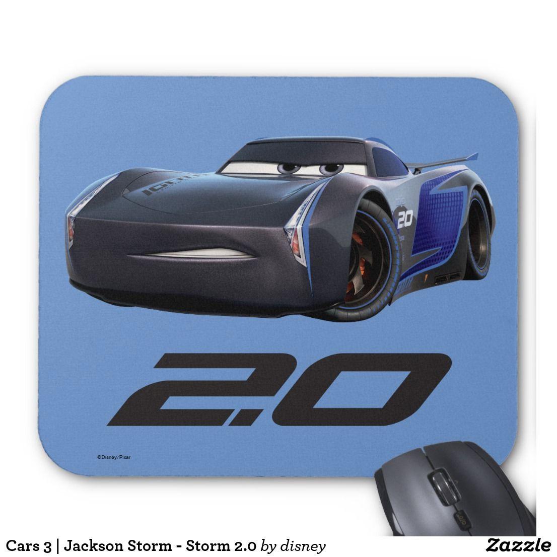cars 3 jackson storm storm 2 0 mouse pad. Black Bedroom Furniture Sets. Home Design Ideas
