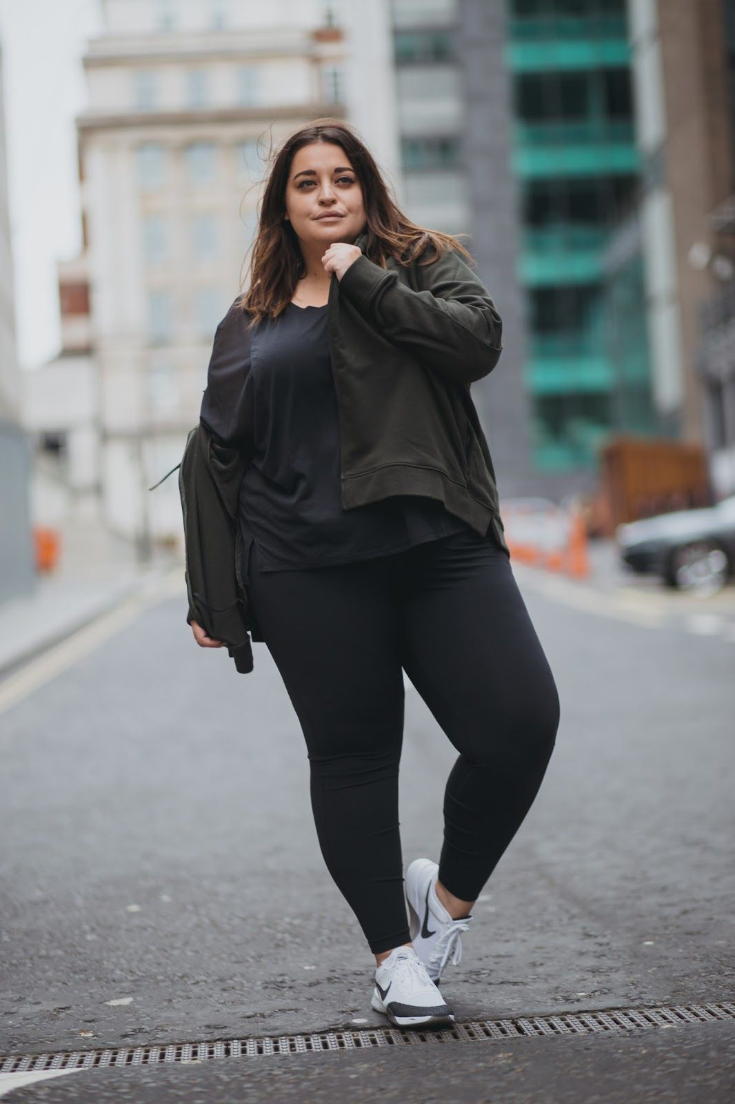 Nike designs activewear that's comfy, performs well and can take you  through anything from a gym workout to walk on the beach. And now it comes  in plus size