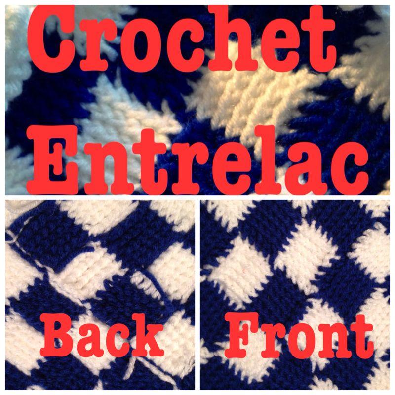Crochet Entrelac via ULT designs | Entrelac Crochet | Pinterest