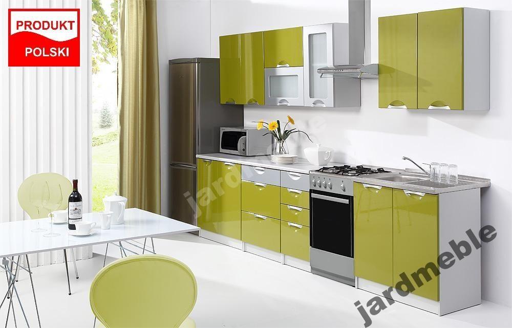 Meble Kuchenne Tafla Rozne Kolory Polysk 260cm 5994158309 Oficjalne Archiwum Allegro Kitchen Cabinets Home Decor Kitchen