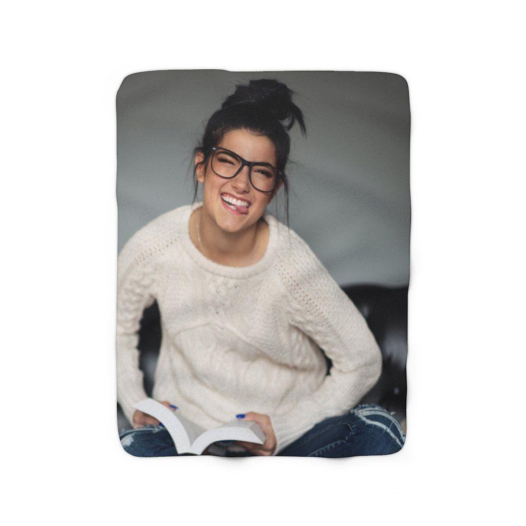Charli Sherpa Fleece Blanket in 2020 | Trendy girl, Fleece blanket, Turtle  love