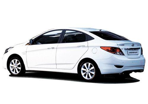 Korean Car Maker Hyundai Motors Has Introduced One More Variant In Its Sedan Verna Fluidic Sedan Hyundai Cars Car Rental Service