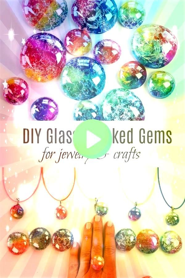 Glass Cracked Gems und Stones Jewelry DIY Glass Cracked Gems und Stones JewelryDIY Glass Cracked Gems und Stones Jewelry DIY Glass Cracked Gems und Stones Jewelry Learn h...