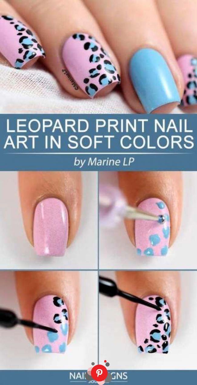 Trendy nails art diy step by step tutorials easy 63 ideas ...