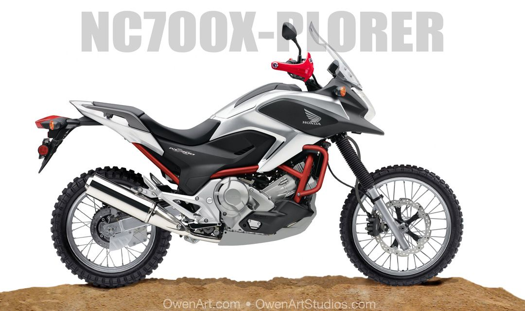Honda Nc700x Dct Abs Off Road Kit Google Search Honda Nc700x Dct
