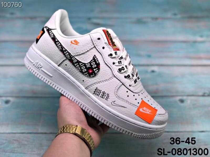 air force 1 low just do it femme