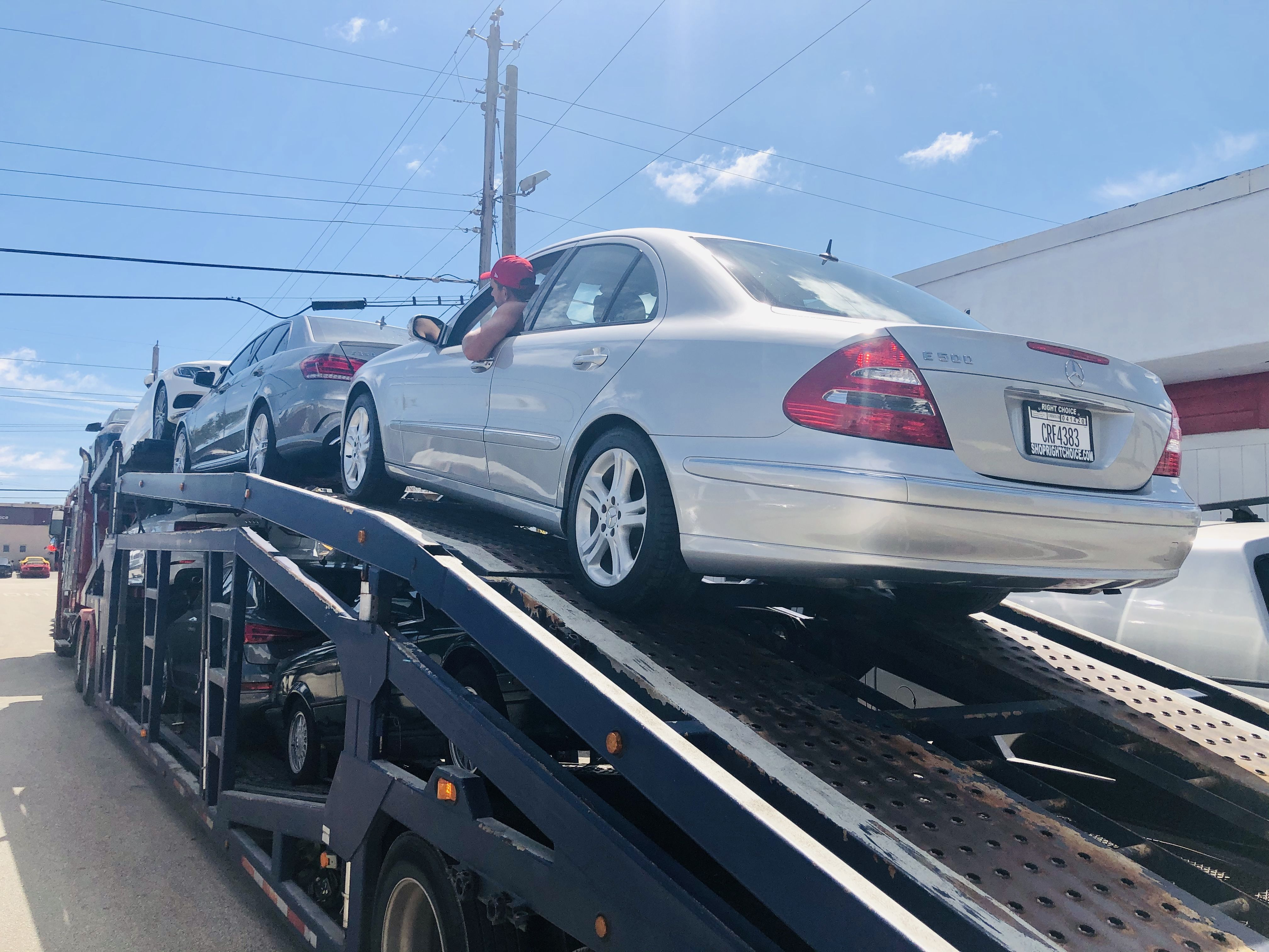 Another smart car buyer who bought from home!  Right Choice Auto Sales in Pompano Beach, FL, is delivering this 2004 Mercedes-Benz E500 to Spring Branch, TX!  SHOPRIGHTCHOICE.COM for a great deal on your next car!   #MercedesBenz #E500 #RightChoiceAutoSales #WeDeliverUsedCars #GreatDeals #BuyCarsFromHome #OnlineShopping #NationwideDelivery #MercedesBenzPompanoBeach #PompanoBeach #FloridaCars #UsedCars #CarsForSale #SouthFlorida #CarDealer
