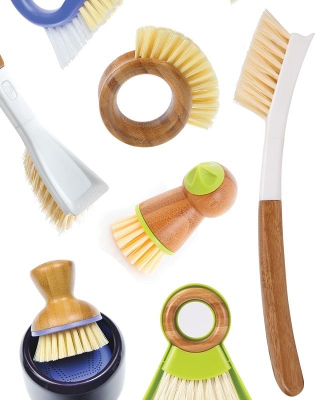 full circle kitchen brush ideas for kitchens products scrub it off green brushes and dish scrubbers