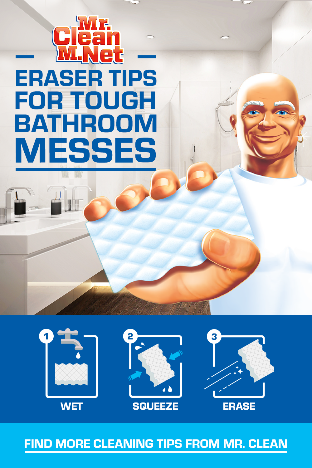 Tips For Tough Bathroom Messes Cleaning Clean Bathtub Cleaning Hacks