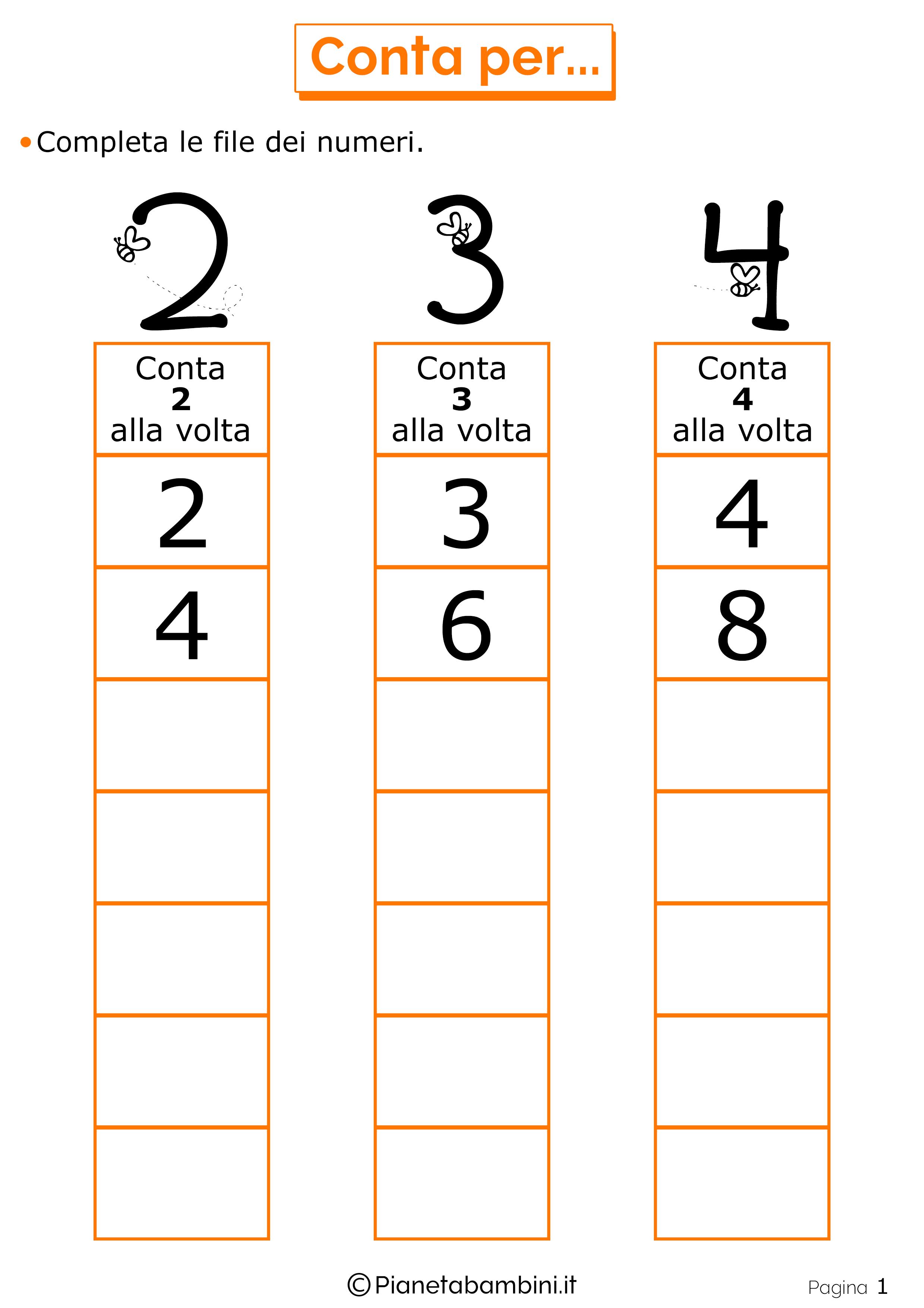 Giochi Di Matematica Per Bambini Di 6 7 Anni Da Stampare Motivi
