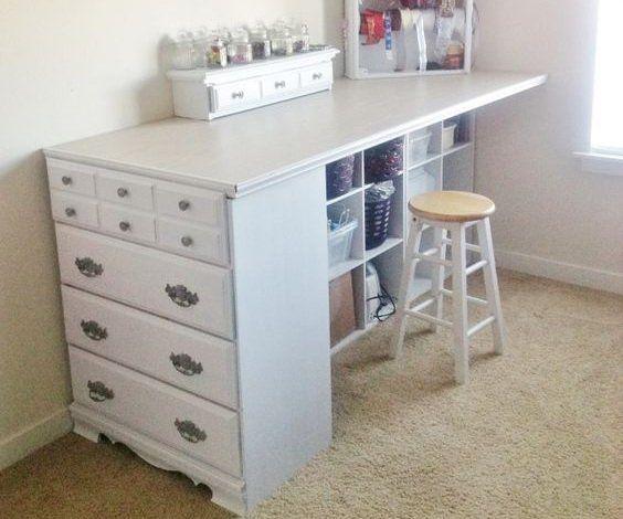 die besten 25 diy tall desk ideen auf pinterest schreibtisch zum lernen arbeitszimmerideen. Black Bedroom Furniture Sets. Home Design Ideas