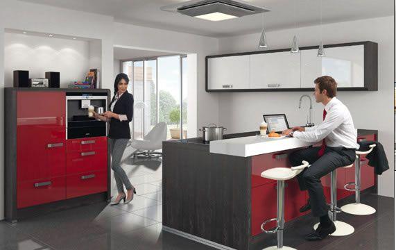 Tipps, um die Küche entspannender machen #entspannender #kuche - Nolte Küchen Fronten Farben