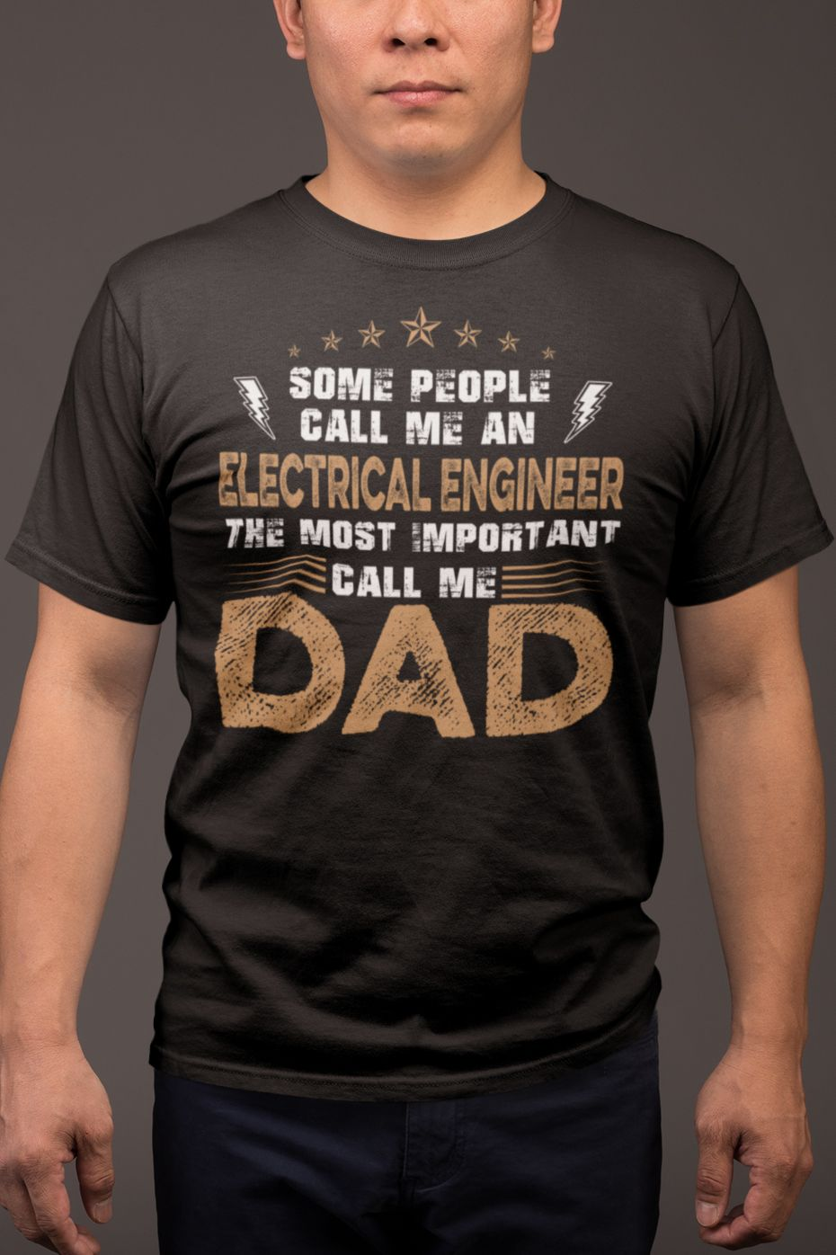 Electrical engineer dad electrician gift design