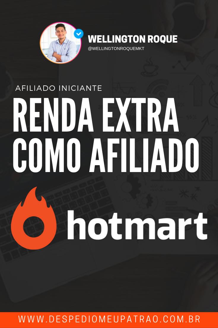 RENDA EXTRA COMO AFILIADO HOTMART
