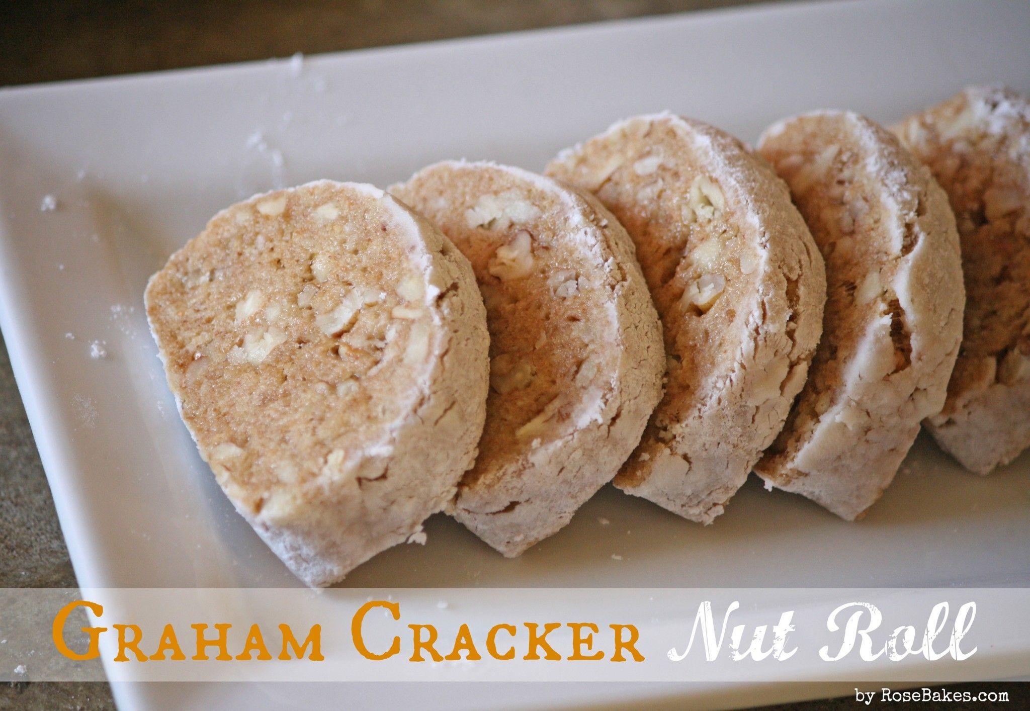 Aunt Millie's Graham Cracker Nut Roll Recipe Graham