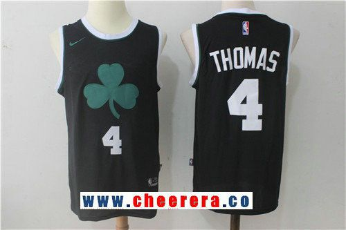 a045a9d8b ... Green Stitched NBA Jersey Mens Boston Celtics 4 Isaiah Thomas Black  2017-2018 Nike Swingman Stitched NBA Jersey ...