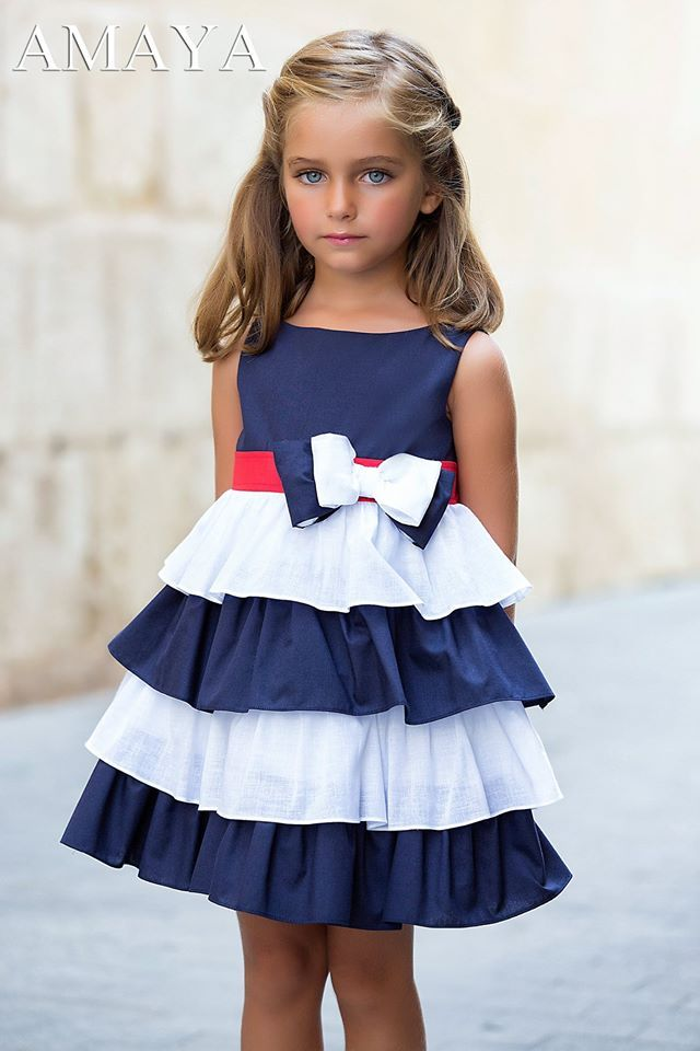 Anabel Moda Artesania Amaya Arras Y Classic Moda Infantil Vestidos Moda