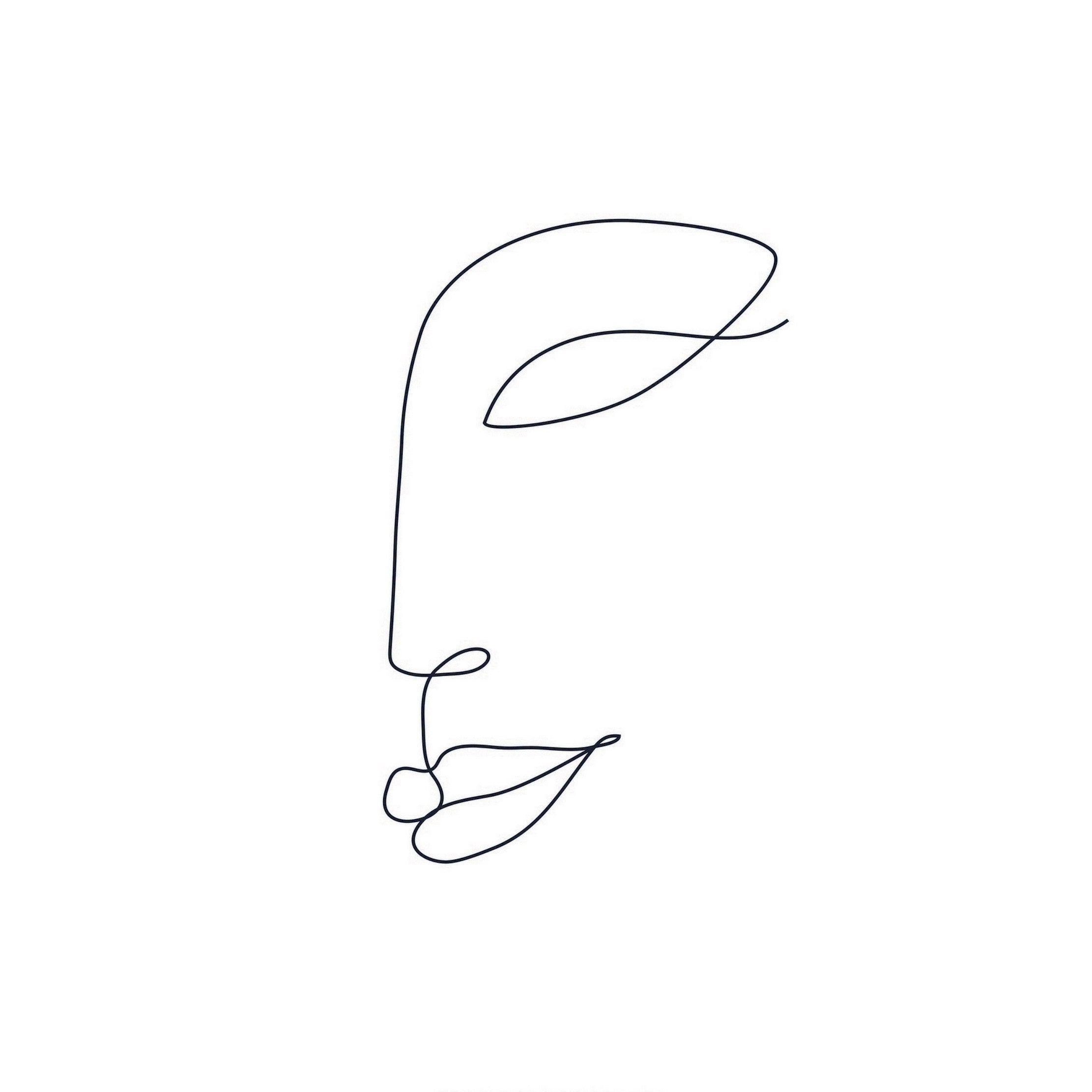 Affiche sourire l.10 x H.15 cm   – dessins